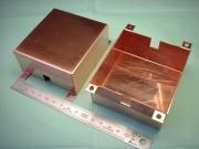 銅ケース・銅箱 タフピッチ銅板 C1100P t1.0|企業様向け精密板金加工部品写真