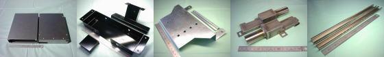 SPCC,SECC,SGCC鋼板等-板金加工例