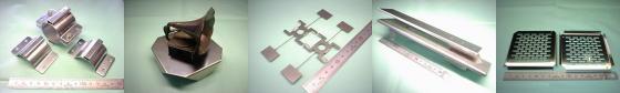 SUS304 ステンレス鋼板等-板金加工例