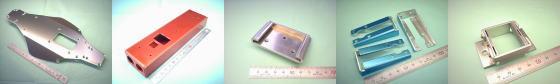 A5052P アルミ板などの板金加工例
