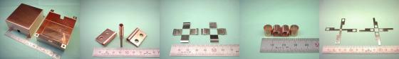 銅板(タフピッチ銅・無酸素銅など)-板金加工例