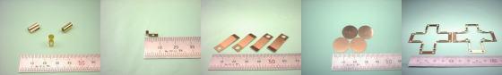 リン青銅板(C5191P・C5210P等)-板金加工例