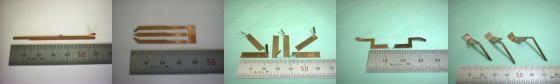 バネ用ベリリウム銅板の板金加工・板ばね加工例